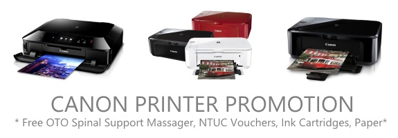 Canon Printer Promotion (17 Sept - 31 Oct 2014)