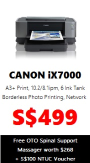 Canon PIXMA Colour Printer iX7000