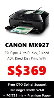 Canon PIXMA Colour Printer MX927 (AIO Wireless)