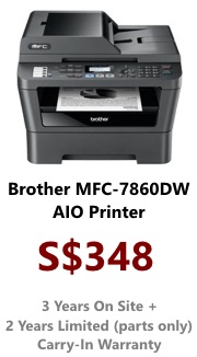 Brother Mono Laser Printer MFC-7860DW (AIO Wireless)