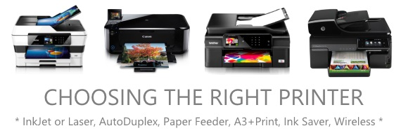 Choosing the right printer