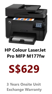 HP Colour LaserJet Printer Pro 100 M177fw (AIO)