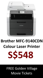 Brother Colour LED Laser Printer MFC-9140CDN (AIO)